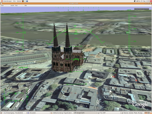 Dom mit 3D